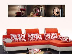 HD Print on Canvas Painting Home Decoration Wall Art Red wine grape Wine Art, Red Wine, Canvas Prints, Decoration, Wall, Painting, Home Decor, Decor, Decoration Home