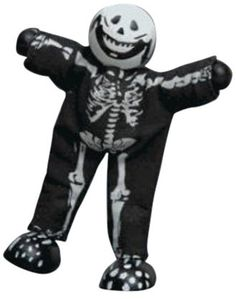 Le Toy Van Bones the Skeleton is dressed for Halloween but can entertain kids throughout the year. Teamed with Dracula, his best pal, this skeleton likes to play tricks to surprise everyone. Why You'll Love It: No bones about it, this skeleton is rib-sticking fun.