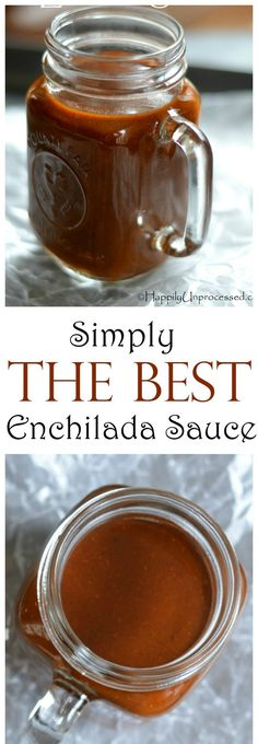 THE BEST Red Enchilada Sauce EVER WARNING! ~ bold, beautiful flavors that you simple CANNOT get from a can! 15 min start to finish! ~ bold, beautiful flavors that you simple CANNOT get from a can! 15 min start to finish! Mexican Dishes, Mexican Food Recipes, New Recipes, Cooking Recipes, Favorite Recipes, Mexican Cooking, Kraft Recipes, Healthy Recipes, Homemade Seasonings