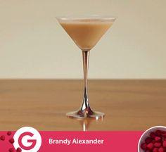 ¡Para terminar la semana, un coctel con historia!  Brandy Alexander --> http://elgour.me/16Xtgcc