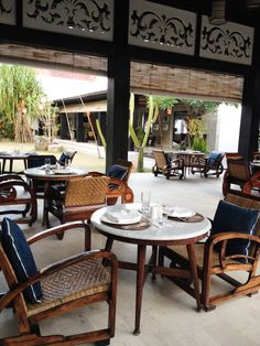Chairs (Shopping in Bali)
