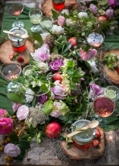 #Forest #food #feast #flowers #roses #soup #foodphotography #foodstyling #styling #photography Lose My Mind, Rustic Elegance, Food Styling, Food Photography, Celebration, Bubbles, Roses, Soup, Table Decorations