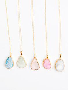 nicole_fegans's save of Pastel Drusy Pendant Necklace on Wanelo Cute Jewelry, Jewelry Box, Jewelry Accessories, Fashion Accessories, Jewlery, Bullet Jewelry, Geek Jewelry, Jewelry Holder, Gothic Jewelry