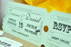How to Style a Carnival Wedding   The Wedding Community  Circus Print    Your invitations will be the first taste of what guests can expect from your wedding styling, so make them memorable and fun by choosing circus style print. Invitations that look like a carnival circus ticket will certainly get guests excited. Follow this theme throughout your wedding day with table stationery and signs around your venue.