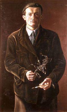 Oskar Zwintscher - Selbstbildnis, 1897