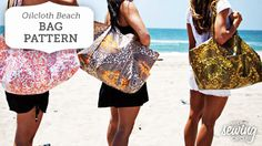 Summer makes me think of a lot of things: long, lazy days, warm sunshine, green trees, and of course, beach weather! Whether you're headed to the lake in your own hometown or jetting off for a tropical vacation, you're going to want a cute and sturdy beach bag to carry all your gear. http://www.nationalsewingcircle.com/article/oilcloth-beach-bag-pattern/?utm_content=bufferacde7&utm_medium=organic&utm_source=pinterest&utm_campaign=A220 #LetsSew