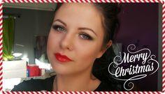 Christmas Inspired Makeup Tutorial | Danielle Scott