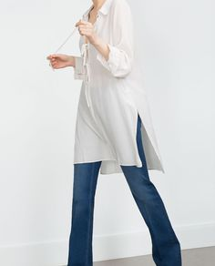 TUNIC WITH SLITS-Dresses-Woman-COLLECTION AW15 | ZARA United States