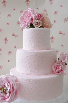 lace cake featured on Cake Central