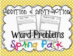 Addition in Kinder! {freebies!}