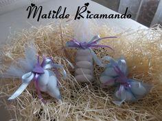 le bomboniere di Matilde ricamando: sacchettini in tulle portaconfetti