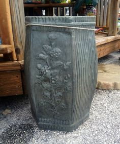 Asian Hex Pedestal (Southwest and Tropical)