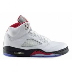 136027-100 Fire Red 5s Air Jordan 5 Retro White Fire Red Black ( Men Women GS Girls)$99.07  http://www.genomenglish.com/