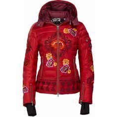 f784f771 Bogner Women's Jacky-d Jacket Wms 1516 -- Red 2