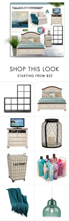 """Home Away From Home: Dorm Decor"" by eula-eldridge-tolliver ❤ liked on Polyvore featuring interior, interiors, interior design, home, home decor, interior decorating, Baxton Studio, Berkshire and InterDesign"