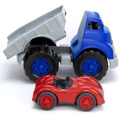 Green Toys - Flat Bed & Red Race Car - Toddler Toys - Cotton Babies Cloth Diaper Store  #CottonBabies