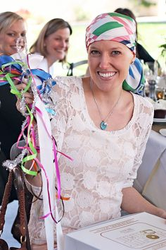 """I love this idea.  It's a """"comfort shower"""" for a woman fighting cancer.  A bunch of her fave people came together for a nice afternoon and showered her with gifts of comfort.  What a wonderful way to lift someone's spirits."""