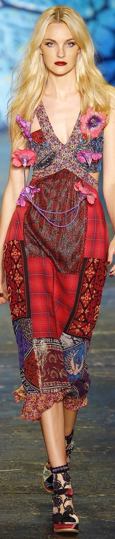 Anna Sui Spring 2016 | House of Beccaria~