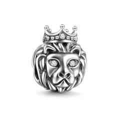 Singapore Merlion Lion Charm 925 Sterling Silver