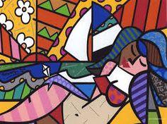 Romero Britto (1963) é um famoso pintor e artista plástico brasileiro. Radicado em Miami, nos EUA, ficou conhecido pelo seu estilo alegre e colorido, por apresentar uma arte pop, despojada da estética clássica e tradicional.  // Romero Britto (1963) is a famous Brazilian artist and painter. Based in Miami, USA, known for its lively and colorful style, by presenting a pop art, stripped of classical aesthetics and traditional.