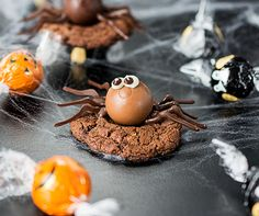 These Chocolate Peanut Butter Spider Cookies are a little spooky, but mostly just delightful | Why can't a trick also be a treat?