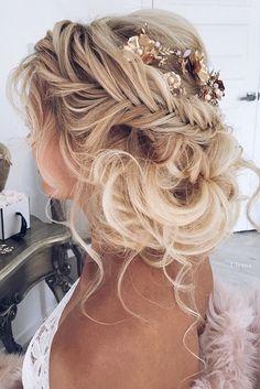boho wedding hair
