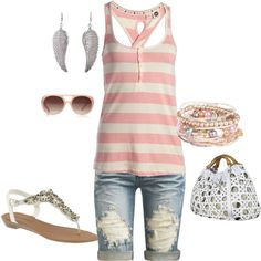 """""""pink"""" by amerg on Polyvore"""