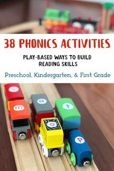 38 Phonics Games and Activities for Preschool and Kindergarten