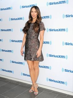 Pin for Later: Minimalism Is Sexy —Just Ask Kim Kardashian and Megan Fox Megan Fox Megan Fox visiting SiriusXM Studios.