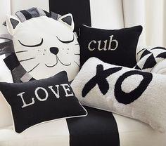 Emily & Meritt Decorative Pillows | Pottery Barn Kids