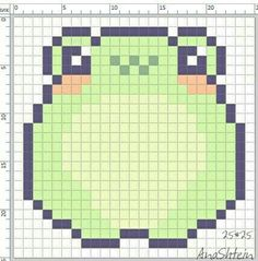 Easy Perler Bead Patterns, Melty Bead Patterns, Perler Bead Templates, Kandi Patterns, Diy Perler Beads, Perler Bead Art, Cross Stitch Art, Cross Stitch Designs, Cross Stitch Embroidery