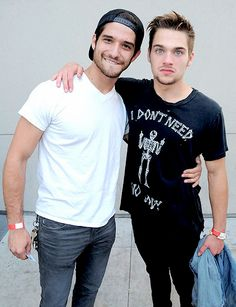 Tyler Posey & Dylan Sprayberry at the LA Film Festival