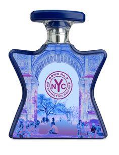 Bond No. 9 Washington Square Eau De Parfum  ~ Notes: Italian Bergamont, Geranium, Terragon, Purple Rose, Honey, Vintage Amber, Leather Accord, Vetiver, Musk ~