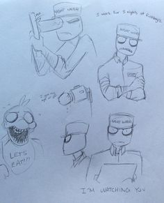 fnaf mike rebornica - Google Search