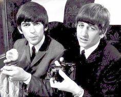 George & Ringo   The Beatles, Hard Days Night