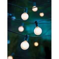 Room Essentials® Frosted Globe Lights (25ct) $12.99