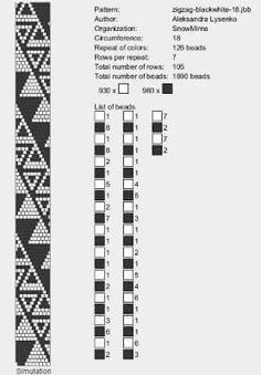Bead crochet patterns Some could be used to do tubular