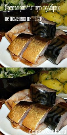 In such a marinade, mackerel is not inferior to the taste of red fish – Shellfish Recipes My Favorite Food, Favorite Recipes, Thyme Recipes, Food Porn, Norwegian Food, Smoked Fish, Shellfish Recipes, Russian Recipes, No Cook Meals