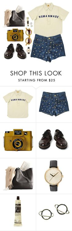 """Untitled #898"" by mywayoflife ❤ liked on Polyvore featuring Human Made, Holga, Marni, Nixon, Aesop, Stefanie Sheehan Jewelry and printedshorts"