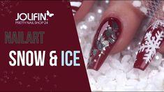 nailart #tutorial #winter #nails Auf der Suche nach neuen Winterdesigns 🌨️⛄ haben wir in dieser Woche gleich mehrere ausprobiert. Welches wird Dein Favorit? Hier findest Du die entsprechenden Produkte: https://www.prettynailshop24.de/shop/nailart-snow-ice-video_1508.html?utm_source=pinterest&utm_medium=referrer&utm_campaign=pi_NA5017