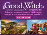 7/2. Good Witch Orlando, FL Vacation Celebration Sweepstakes