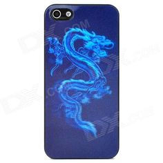 Brand: N/A; Quantity: 1 Piece; Color: Blue + black; Material: PVC; Type: Back Cases; Compatible Models: Iphone 5; Other Features: Cool naked eye 3D effects; Protects your device from scratches dust and shock; Packing List: 1 x Back case; http://j.mp/1lkktxq