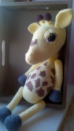 Winnie the Baby Giraffe Amigurumi Crochet Pattern by Amineke