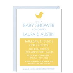 Chick Baby Shower Invitation | Paper Source