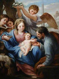 Francesco Mancini: Sagrada Familia.