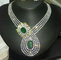 Diamonds and emeralds Regram from Instagram