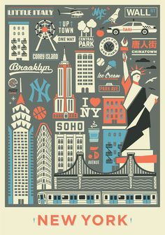 The city that never sleeps. Art Print