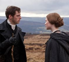 Jamie Bell and Mia Wasikowska, Jane Eyre. The first time I ever watched a film featuring Jamie Bell.