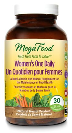 MegaFood Women One Daily Multi-Vitamin $34.99 - from Well.ca
