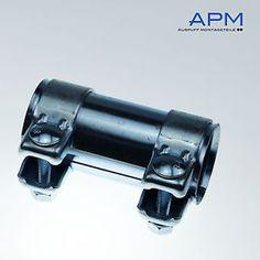 Abrazadera de doble tubo conector abrazadera 60 x 90 mm Audi